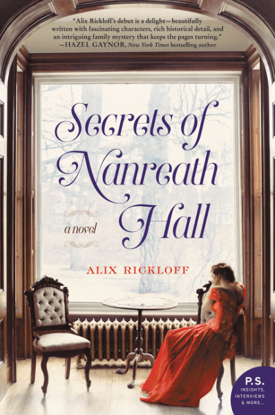 Review: Secrets of Nanreath Hall, by Alix Rickloff
