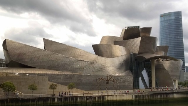 Photograph of Guggenheim, Bilbao.