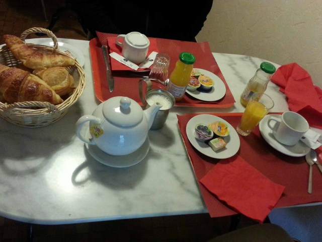 Photograph of Philbert de Boutaine Hotel breakfast