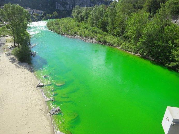 rivière verte