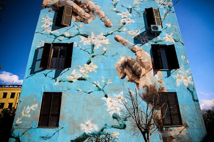 big city life rome street art