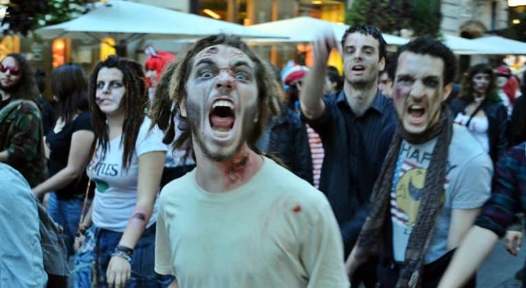 zombie walk nantes