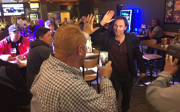 BDUBS darcy high five steve