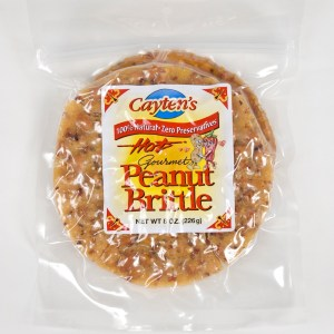 8 oz. HOT! Peanut Brittle