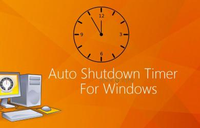 Schedule Shutdown For Windows