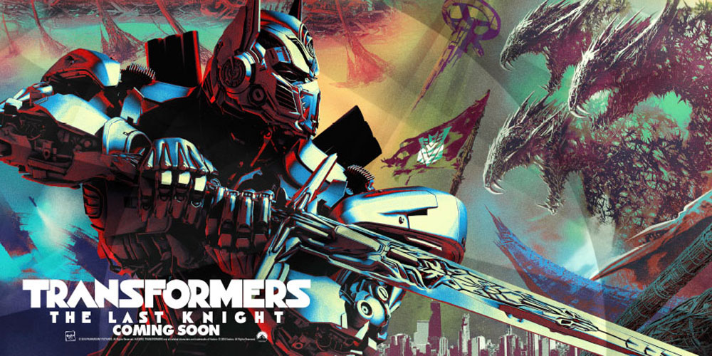 Transformers: The Last Knight First Poster