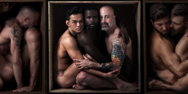 Apropos Of Nothing: Sexy Naked Men Get Put In A Box For A New Coffee Table Book
