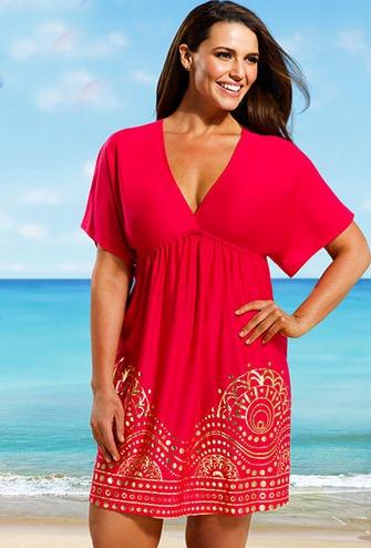 30 Great Plus Size Swim Cover Ups - BigGirlsGuide