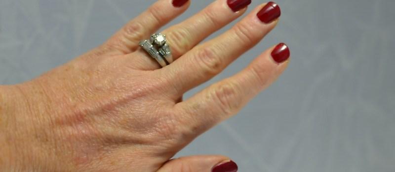 womens hand