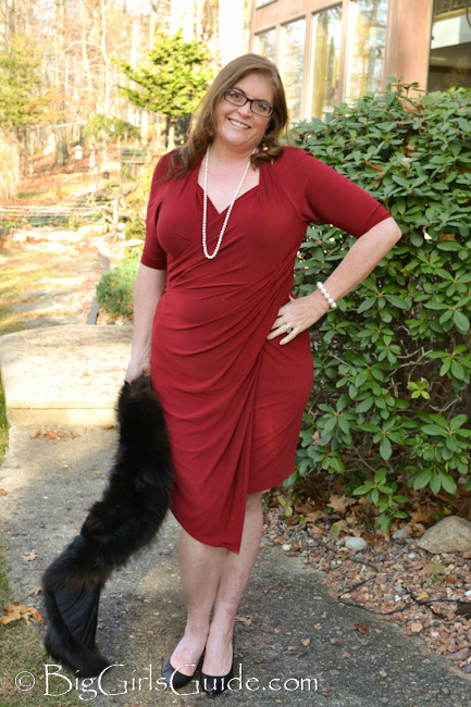 Plus Size Women Red Dresses Plus sive Blogger Sherry Aikens Fashion over 40 Rock the Red Dress