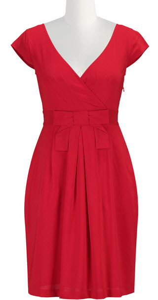 Red dress for women over 40
