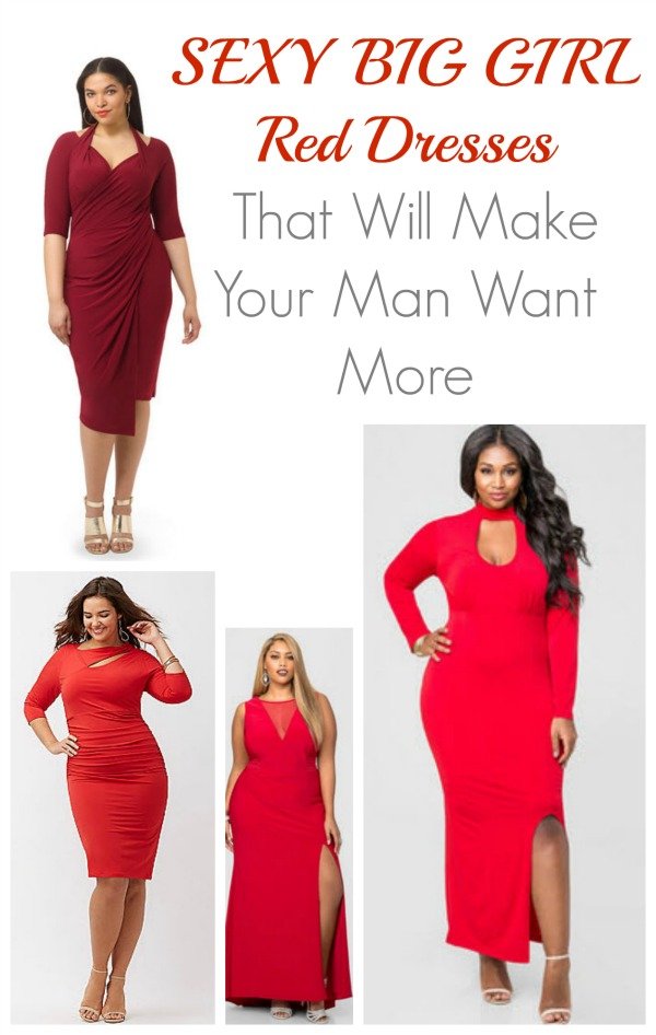 A great collection of Plus Size Red dresses for women