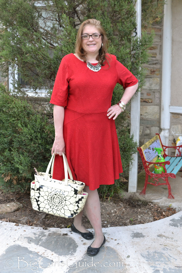 Fashion over 40 Plus Size Fashion Blogger Sherry Aikens OOTD Plus size causal brights. Plus size fashion for women