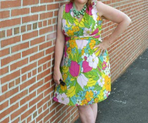 Plus size dress fashion for womens over 40 Plus size fashion blogger Sherry Aikens