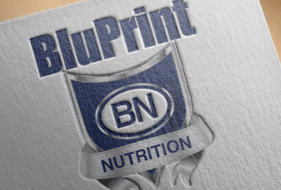 BluPrint Nutrition Supplement Logo Design