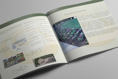 Square Brochure Design-Dallas Landscape Company-Big Hit Creative