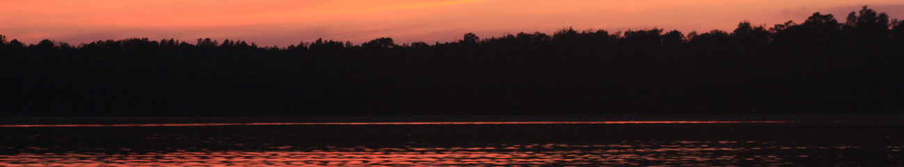 Big Pine Lake, Crosslake - Sunset