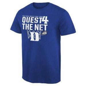duke blue devils final 4 t-shirts, duke quest for the net t-shirt, duke fiinal four apparel