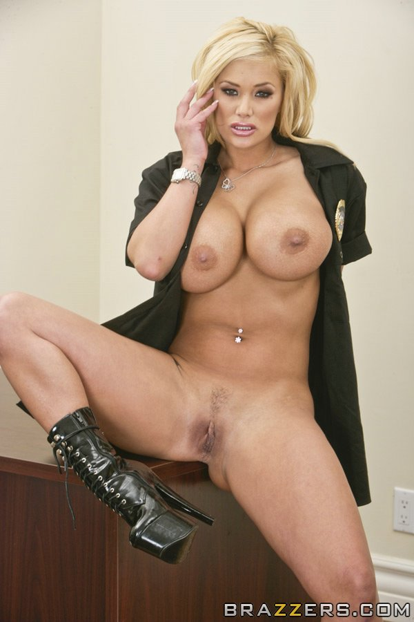 Shyla stylez big tits in uniform