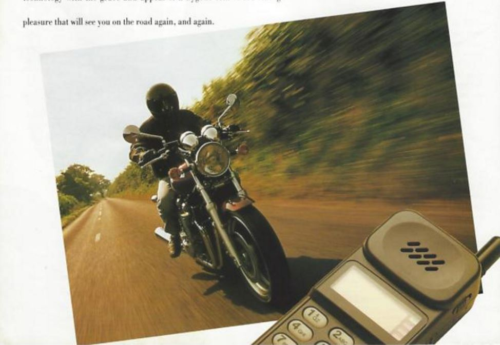 Picture Intermission - Motorcycle Catalogs from 1994