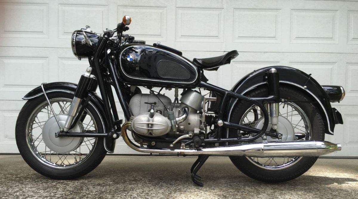 Brooks Restoration - 1967 BMW R69S