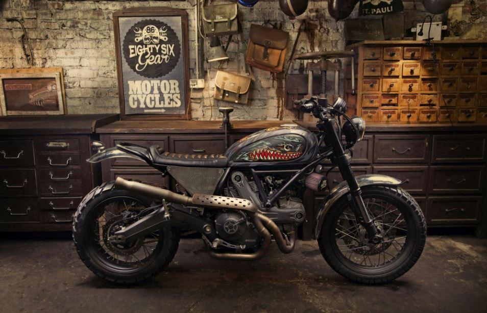 Iron Lungs - 2015 Ducati Scrambler Custom