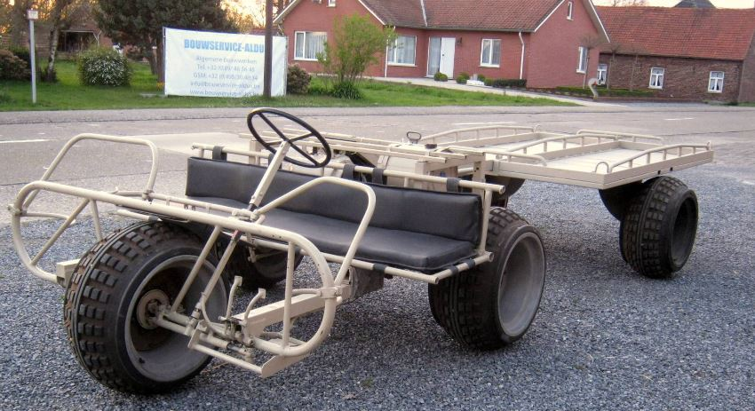 Military Trike - 1960 Fabrique Nationale AS 24