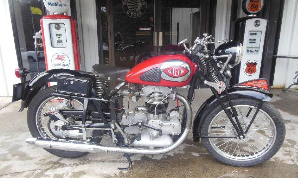 1939 Gilera Saturno 500