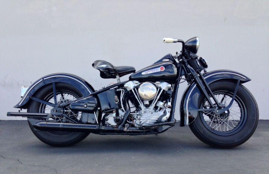 Harley Davidson Bike Reviews >> 1947 Harley-Davidson Knucklehead - Bike-urious