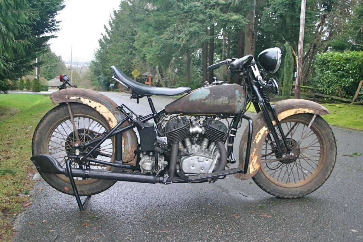 Well Aged - 1934 Harley-Davidson VLD