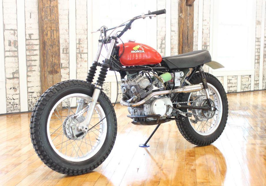 Dual Sport Custom - 1966 Honda CB160