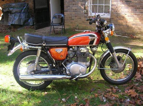 Honda CB350 - Right Side