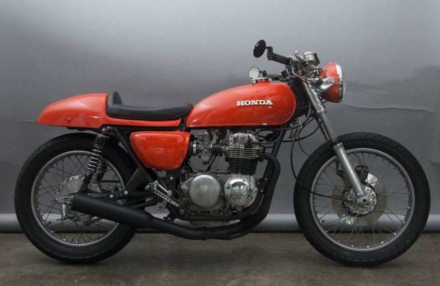 1973 honda cb500 cafe racer bike urious. Black Bedroom Furniture Sets. Home Design Ideas