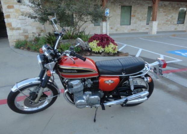Original CB - 1973 Honda CB750 K3