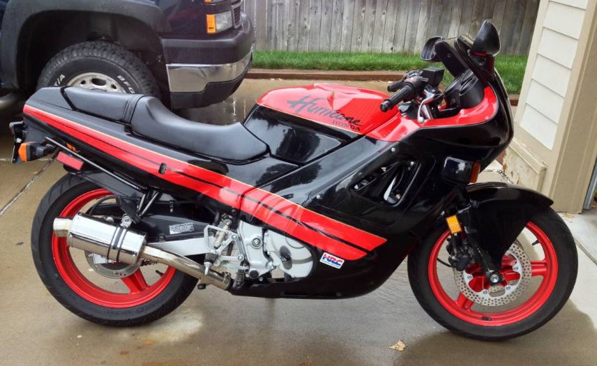 1987 Honda Cbr600f Hurricane Bike Urious
