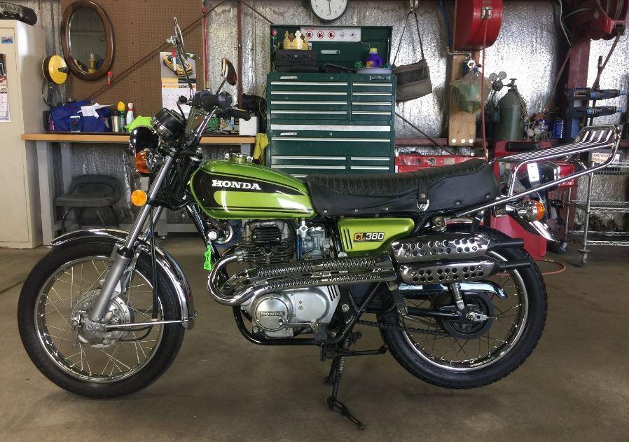 1974 Honda CL360 KO