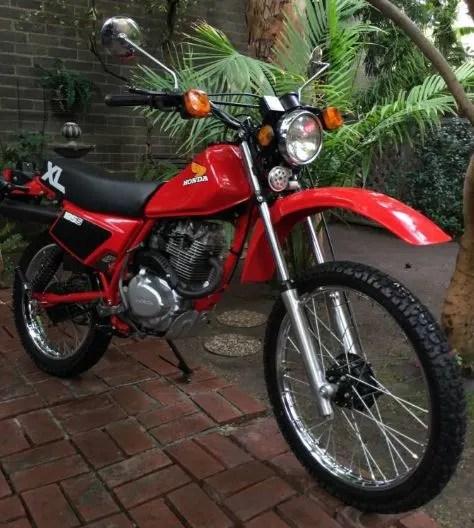 939 Miles - 1983 Honda XL185S