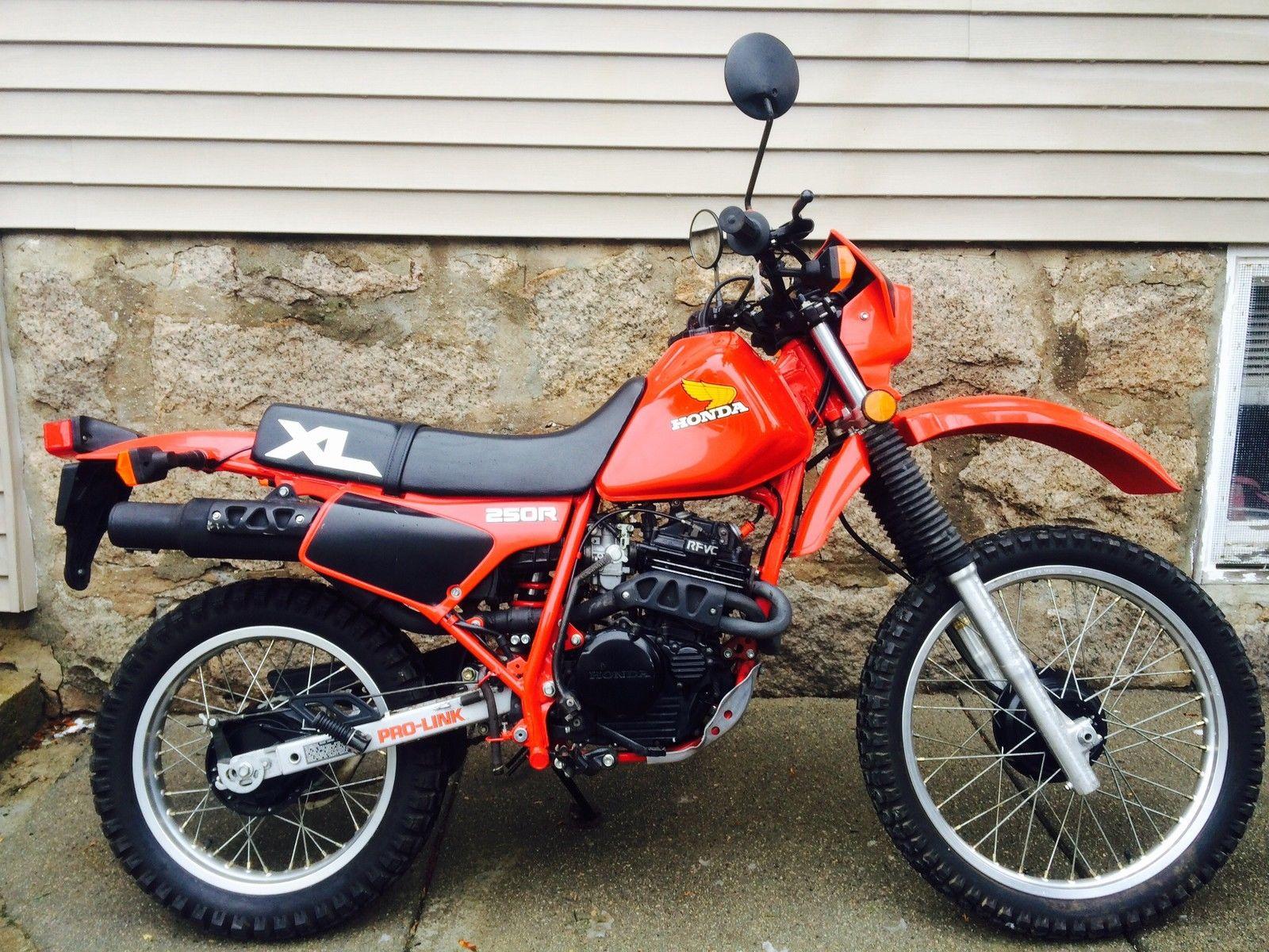 Honda XL250R - Right Side - Bike-urious