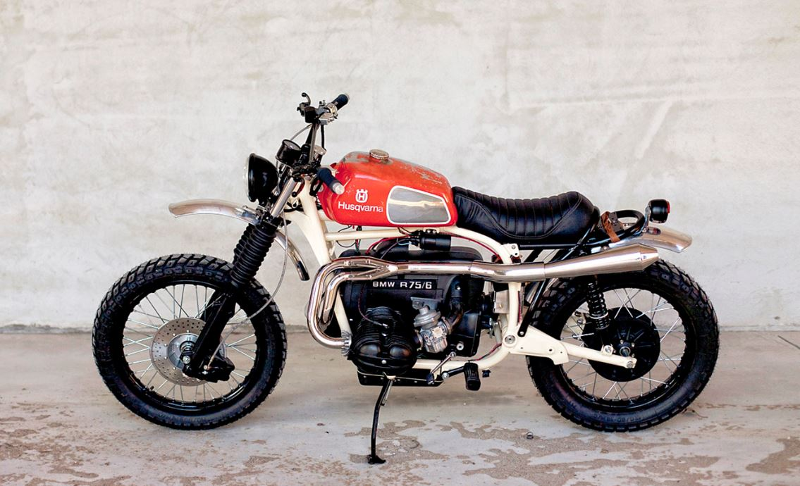 The Huskymer - 1976 BMW R75/6 Custom