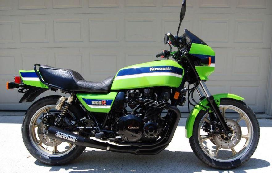 Eddie Lawson Replica 1983 Kawasaki Kz1000r2 Elr Bike