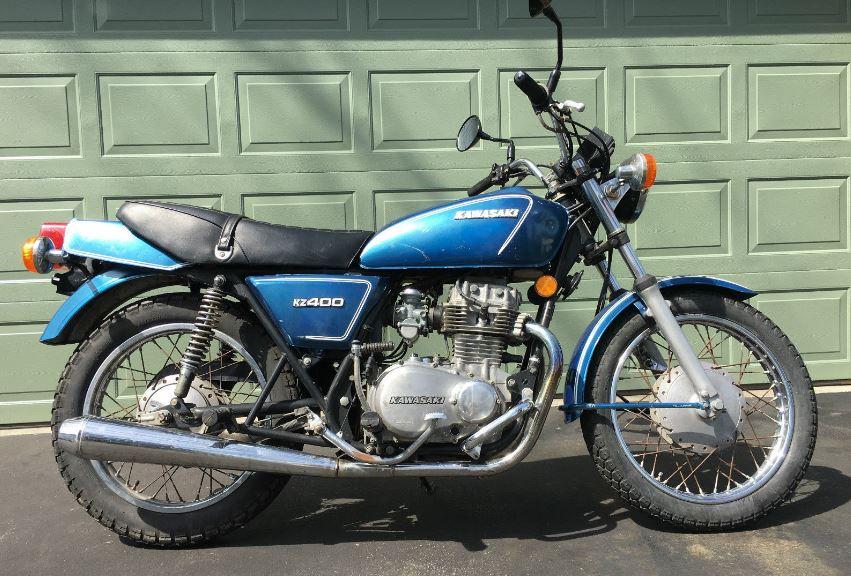 Cheap Runner - 1977 Kawasaki KZ400