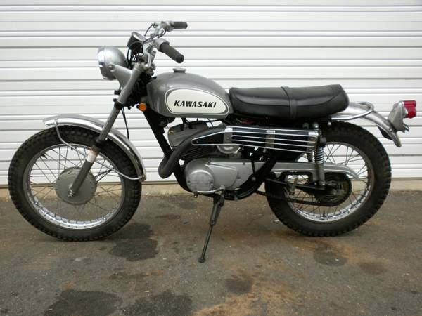 Kawasaki Sidewinder - Left Side