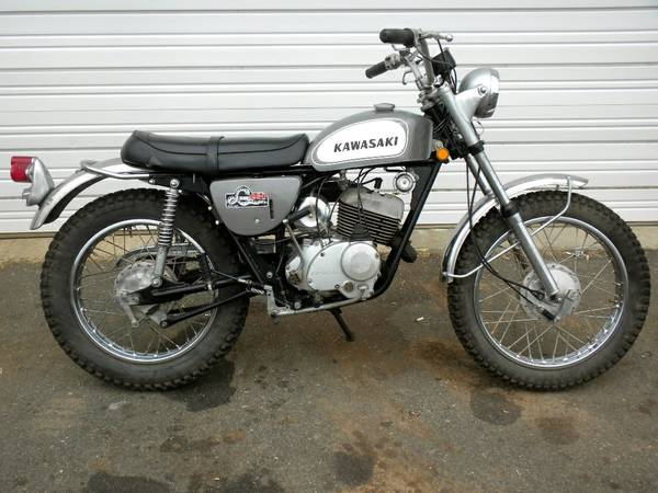 Kawasaki Sidewinder - Right Side