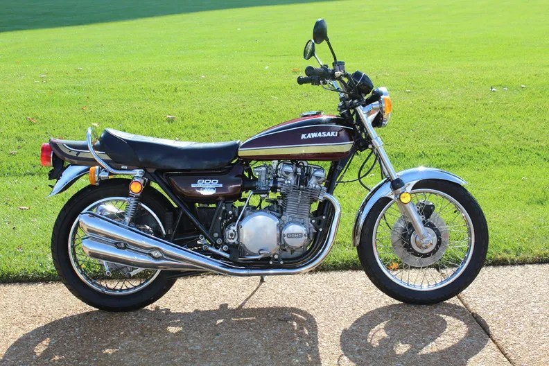 Basically One Owner - 1975 Kawasaki Z1
