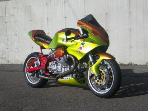2000 moto guzzi v11 sport custom for sale bike urious. Black Bedroom Furniture Sets. Home Design Ideas