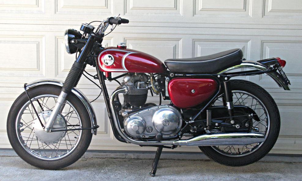 1968 Norton N15CS Scrambler
