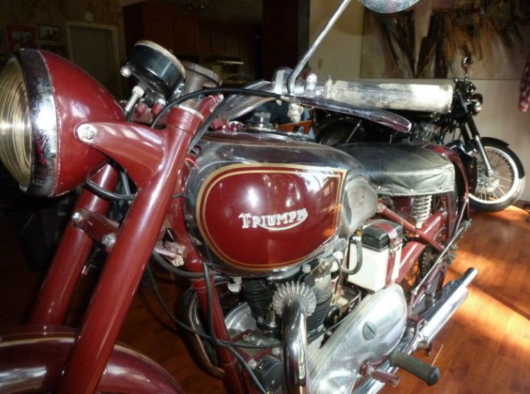 Part of the Legend - 1948 Triumph Speed Twin