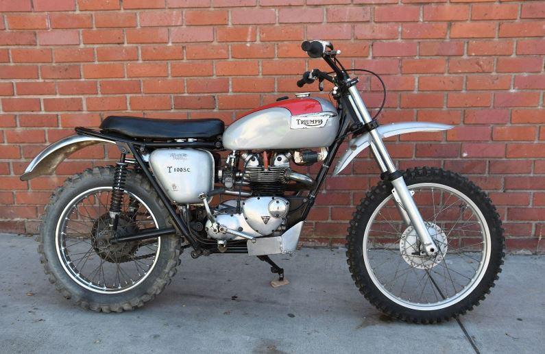 1966 Triumph T100 SC