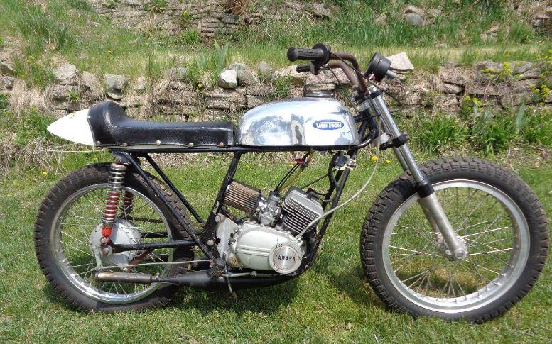 State Champion - 1971 Van Tech Yamaha 100 Flat Tracker