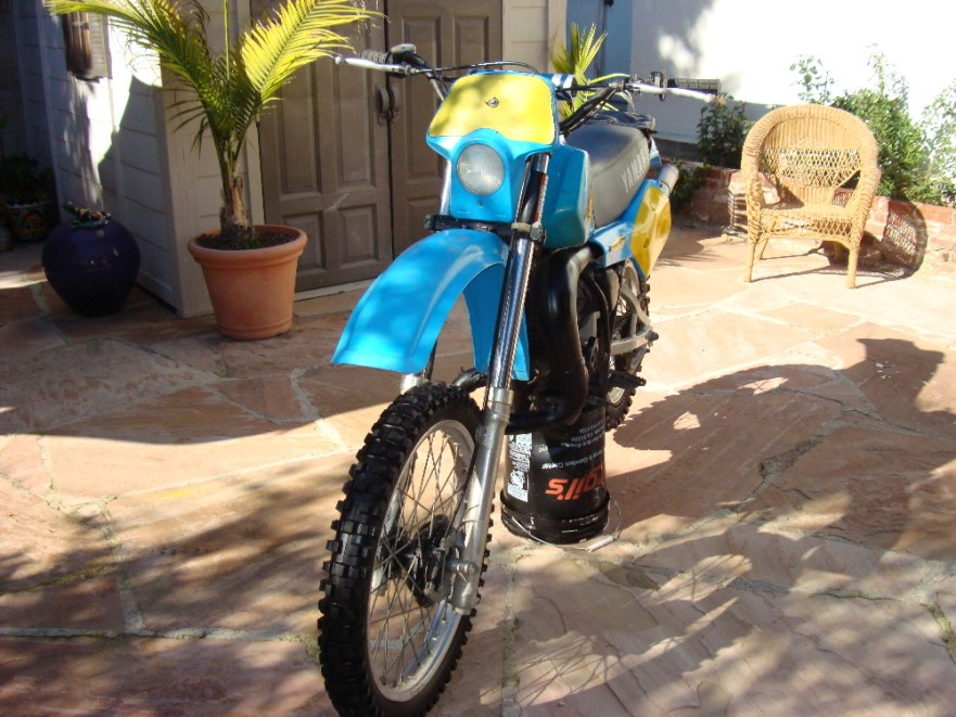 Yamaha IT465 - Front